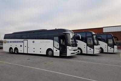 Våra bussar